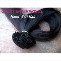 Hand Made Weft Hair