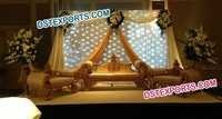 ASIAN WEDDING MAHARAJA SOFA SET