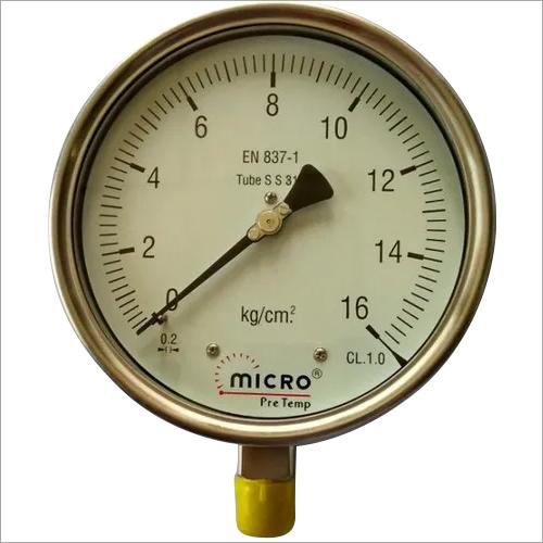 Industrial Heavy Duty Weather Proof Pressure Gauge