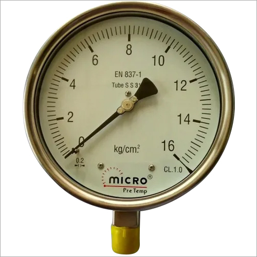 Industrial Heavy Duty Weather Proof Pressure Gauge