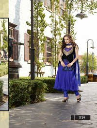 Latest Designer Sleeveless Anarkali Suit