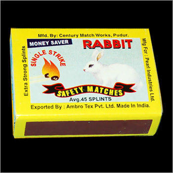 Rabbit Safety Matches
