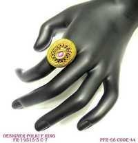 Designer Polki Ring