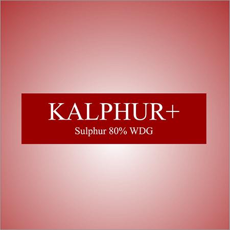 Sulphur 80 % WDG