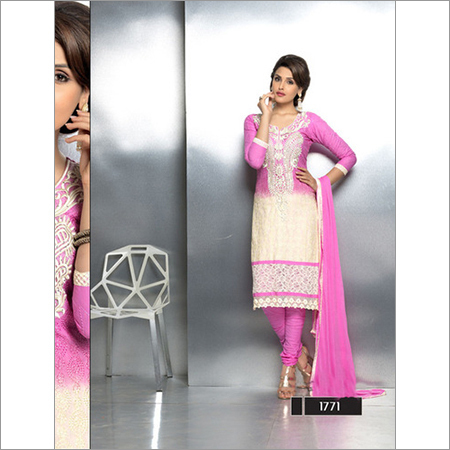 Buy Online Embroidered Stragiht Suits