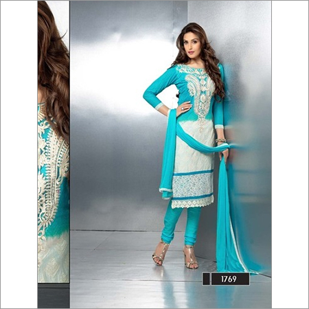 Latest Embroidered  straight Suits