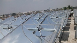 Parabolic Trough Concentrator