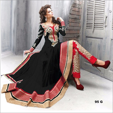 Stylist Long Sleeve Anarkali Suit