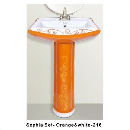 Sophia Rustic Pedestal Wash Basin