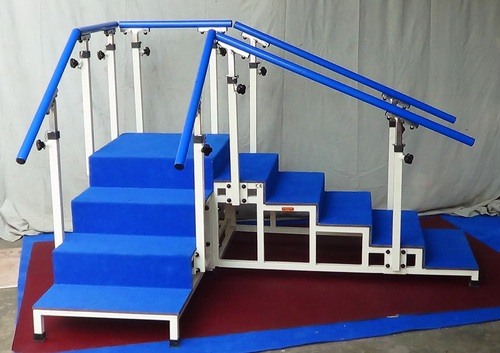 EXERCISE STAIRCASE with Tubular Base (Corner Type, 60cm wide):