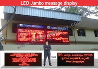 Multilingual LED Display Board