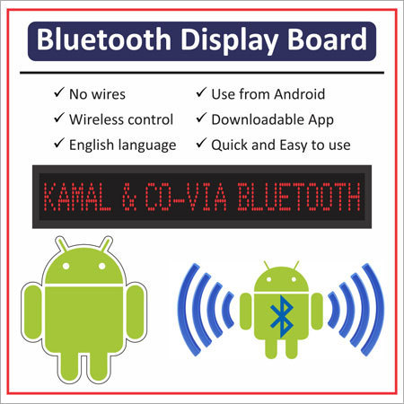 Bluetooth Display Board
