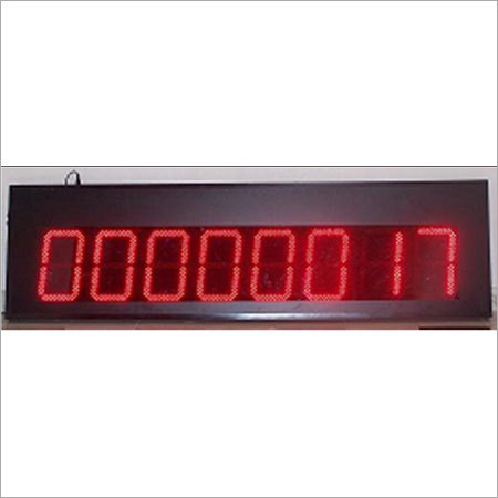People Counting Display Machine