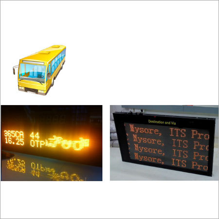 LED Bus Destination Display