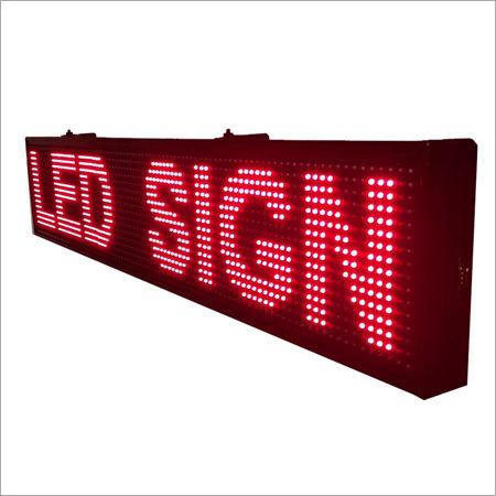 LED Moving Display Board