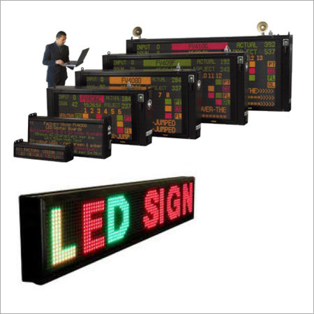 Tri Color LED Display Board