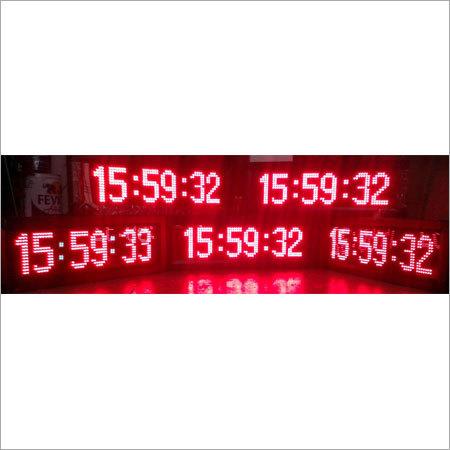 LED GPS Clocks