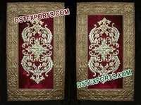 Indian Wedding Golden Embrodried Panel