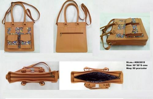 Brown Ladies Designer Handbag