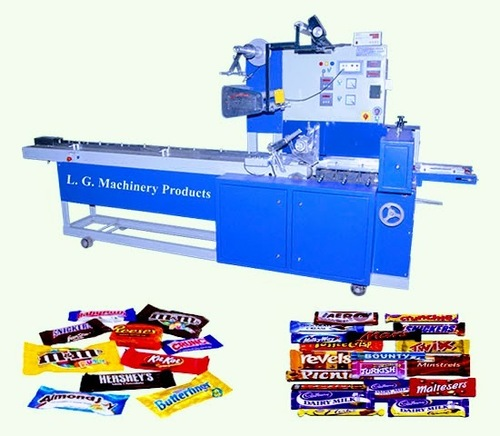 Chocolate Bar Wrapping Machine