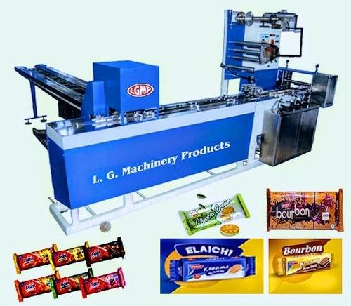 Cream Biscuit Packing Machine