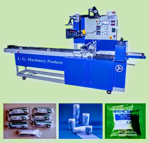 Surgical Band Aid Packaging Machine