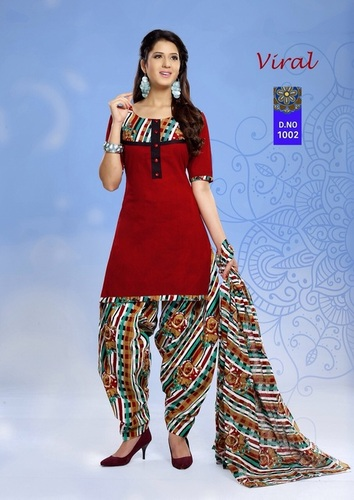 Indian Cotton Salwar Kameez