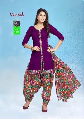 Viral Cotton Salwar Kameez Material