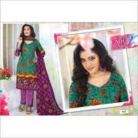 Monalisa Cotton Unstitched Dress Materials