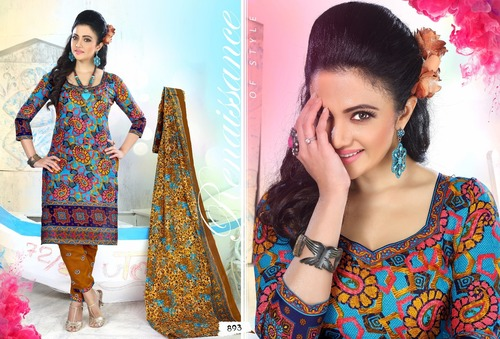 Monalisa Cotton Suit Materials