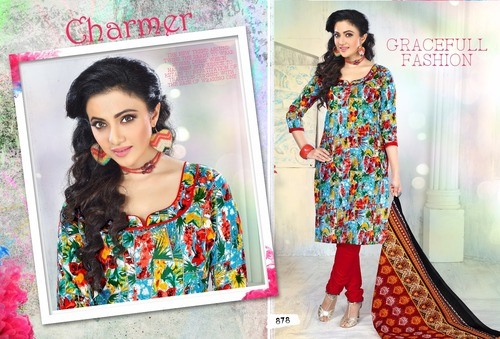 Churidar Cotton Salwar Kameez