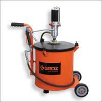 Portable Grease Pump System complete with grease drum