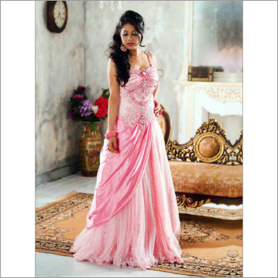 Net Wedding Gown