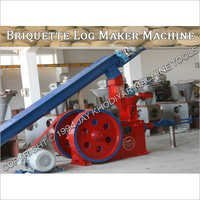 Briquette Log Maker Machine