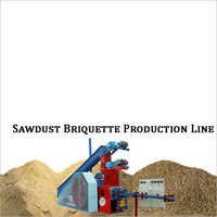 Sawdust Briquette Production Line