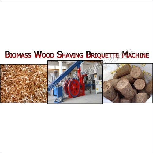 Biomass Wood Shaving Briquette Machine