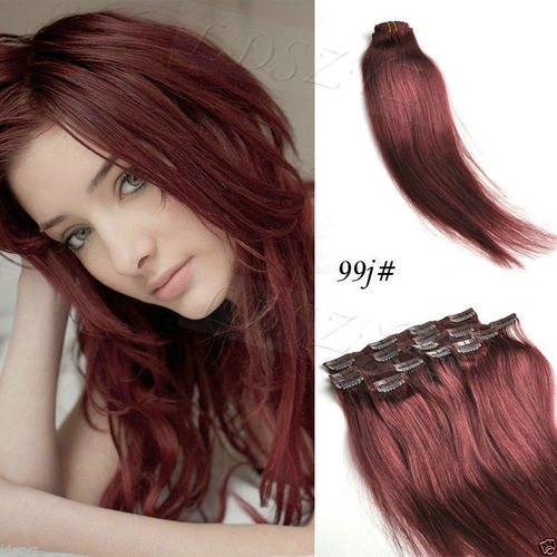 Clip On Hair Extension 28