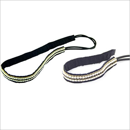 Ladies Beaded Elastic Headband