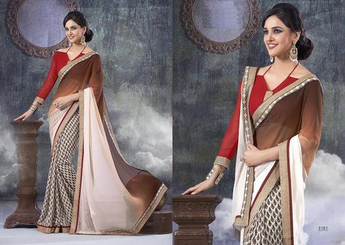 pothys designer sarees
