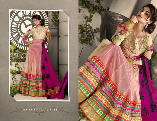 latest designer anarkali suit
