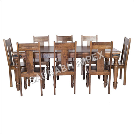 Mango Wood Dining Furniture Set