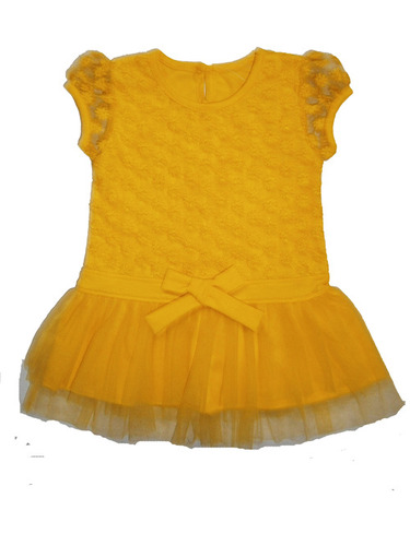 infant baby girls net frock