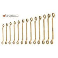 Non Sparking Double Ended Ring Wrench Set