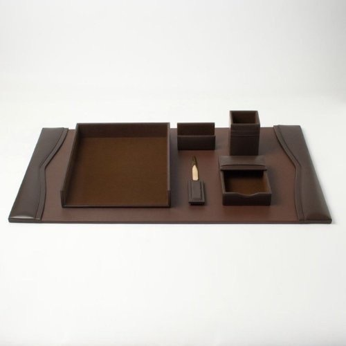 Executive Leather Desk Sets