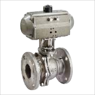Pneumatic Two Piece Flanged Ball Valve