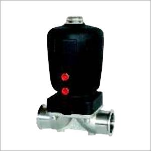 Pneumatic Clamped Diaphragm Valve (Plastic Actuator)