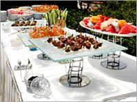 Outdoor Wedding Catering Services