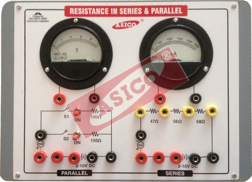 Resistances in Series & Parallel Apparatus