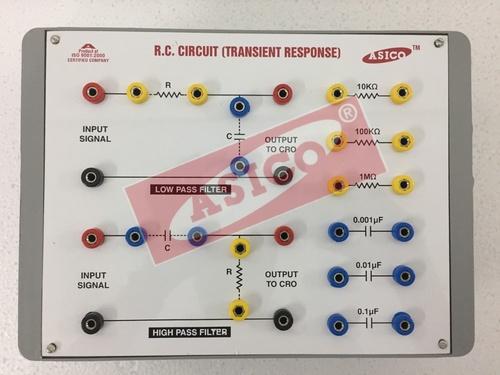 RC Circuit as High Pass & Low Pass Filters