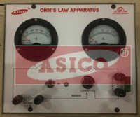Ohms Law Apparatus (With Power Supply)